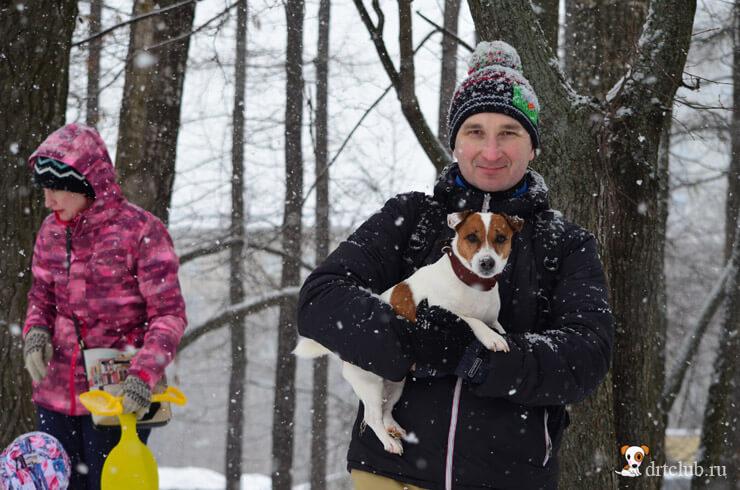 Снежные и довольные