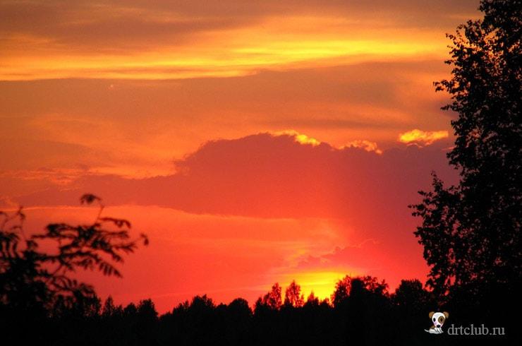 Закаты над Горой