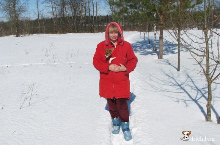 Снег не понравился