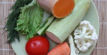 Овощи в рационе животного