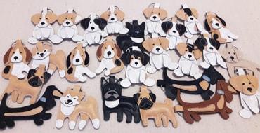 Брелок в подарок собаководу