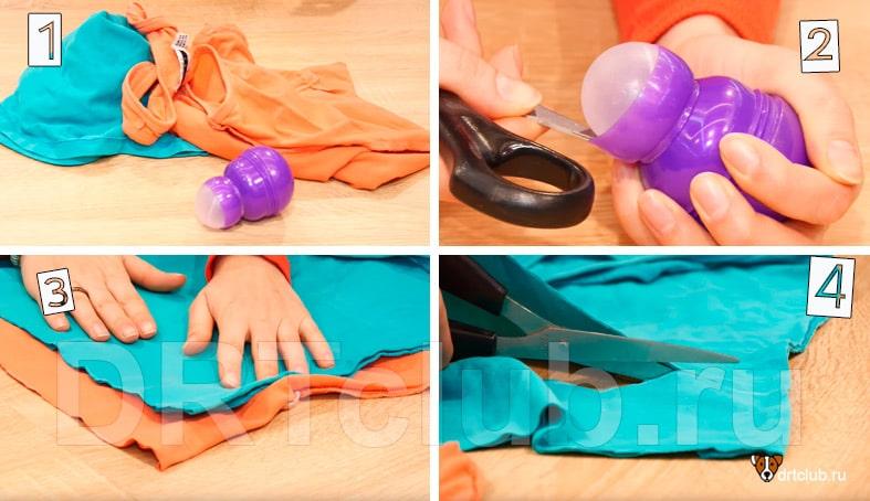Делаем медузу для собаки