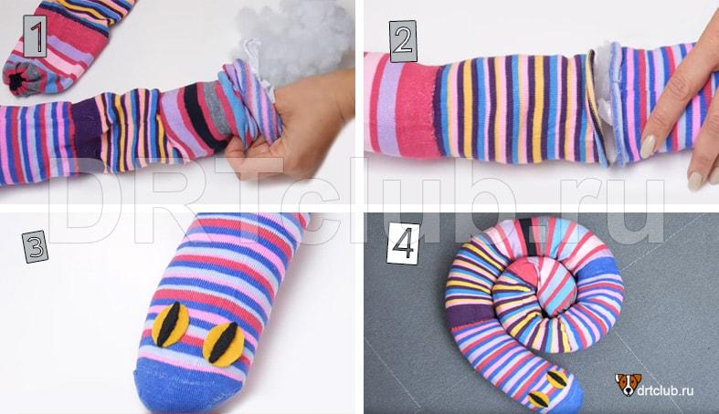 Игрушки для собак из носков