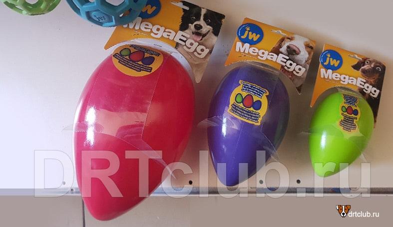 Разные размеры Мега яйца