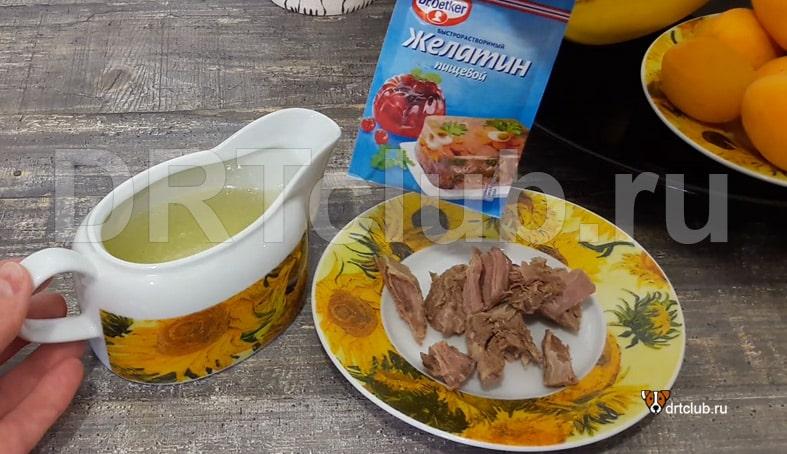 Ингредиенты для приготовления мясных вкусняшек