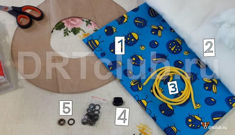 Материалы для изготовления мягкого защитного воротника