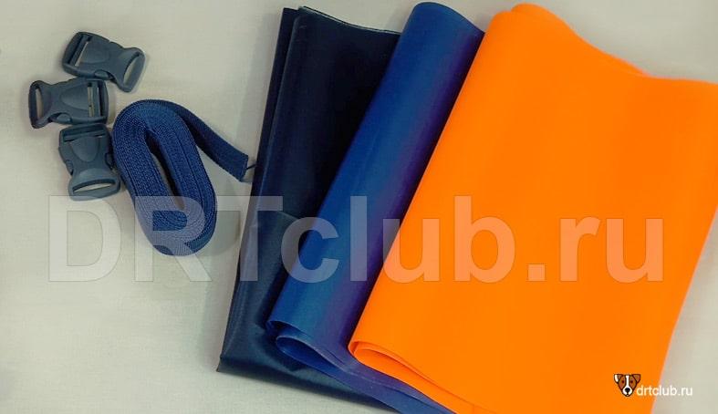 Материалы для изготовления спасательного жилета